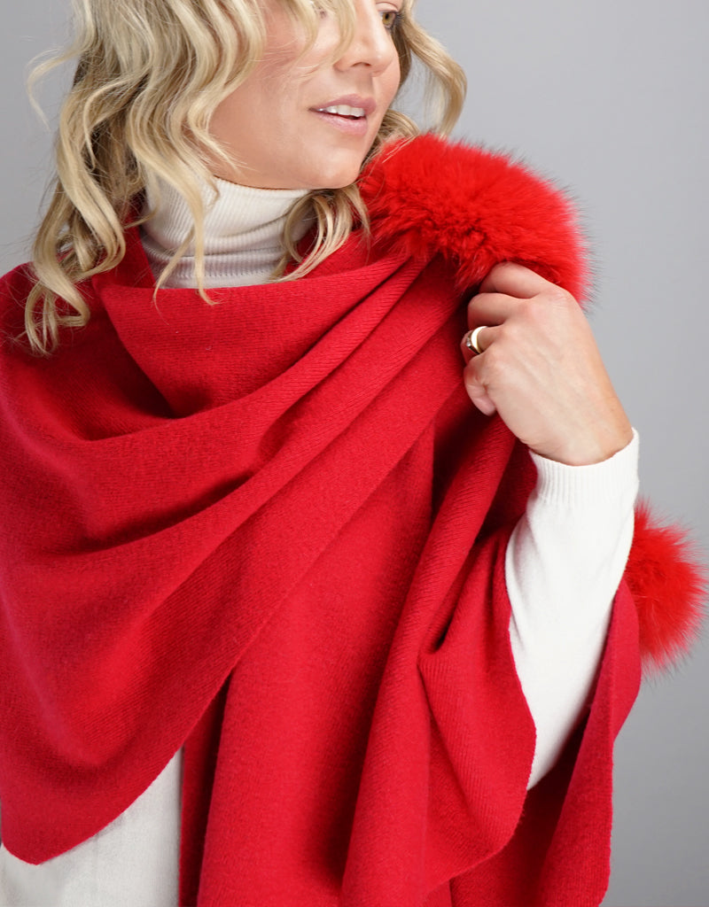 "Loop ""Pull Thru""  Wrap - Red"