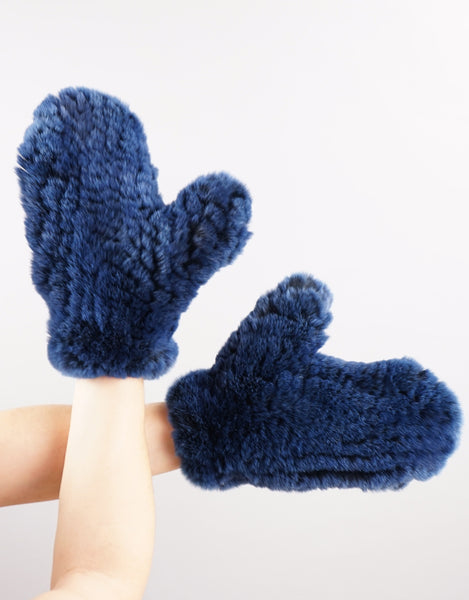 Rex Mitten - Royal Blue Black