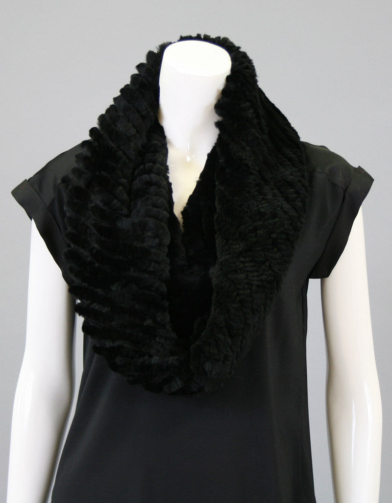 Stretch Cowl/ Shrug-Charcoal