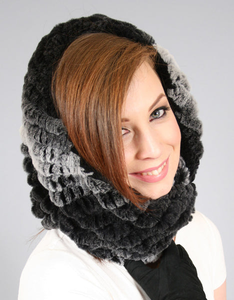 Stretch Cowl/ Shrug- Shadow