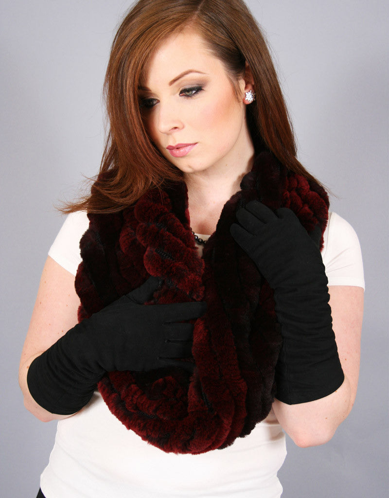 Stretch Cowl/ Shrug-B