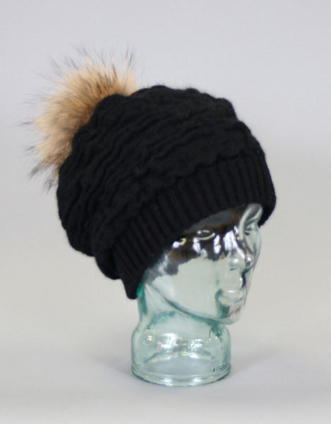 Rouched Slouch Tam-B