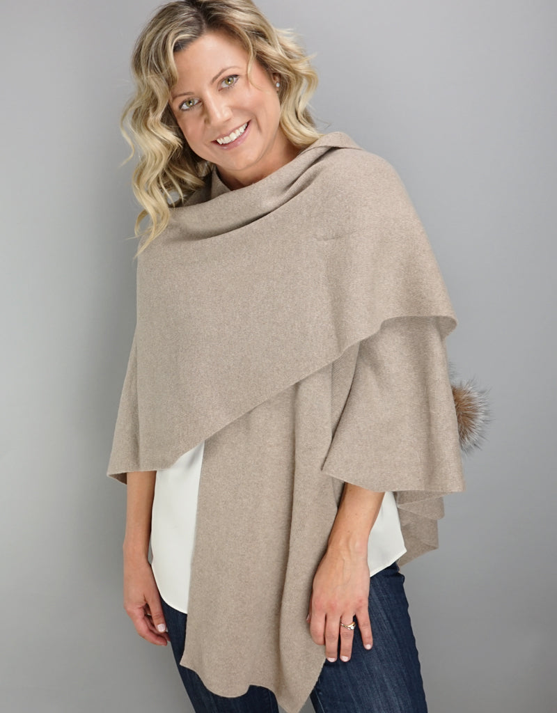 "Loop ""Pull Thru""  Wrap - Taupe"