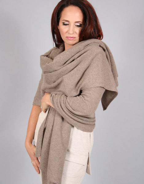 Essential Travel Wrap-Taupe