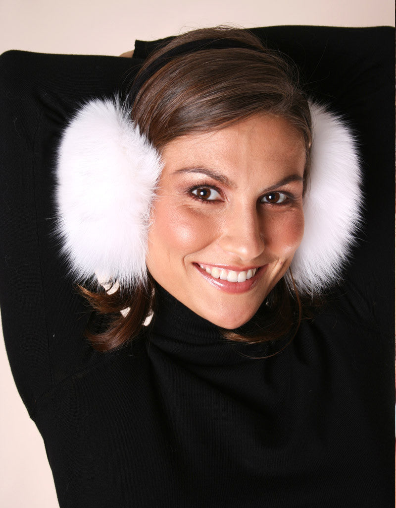 Velvet Band Fur Earmuff-A