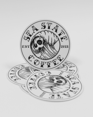 "Sea State Coffee 3"" Slaps"