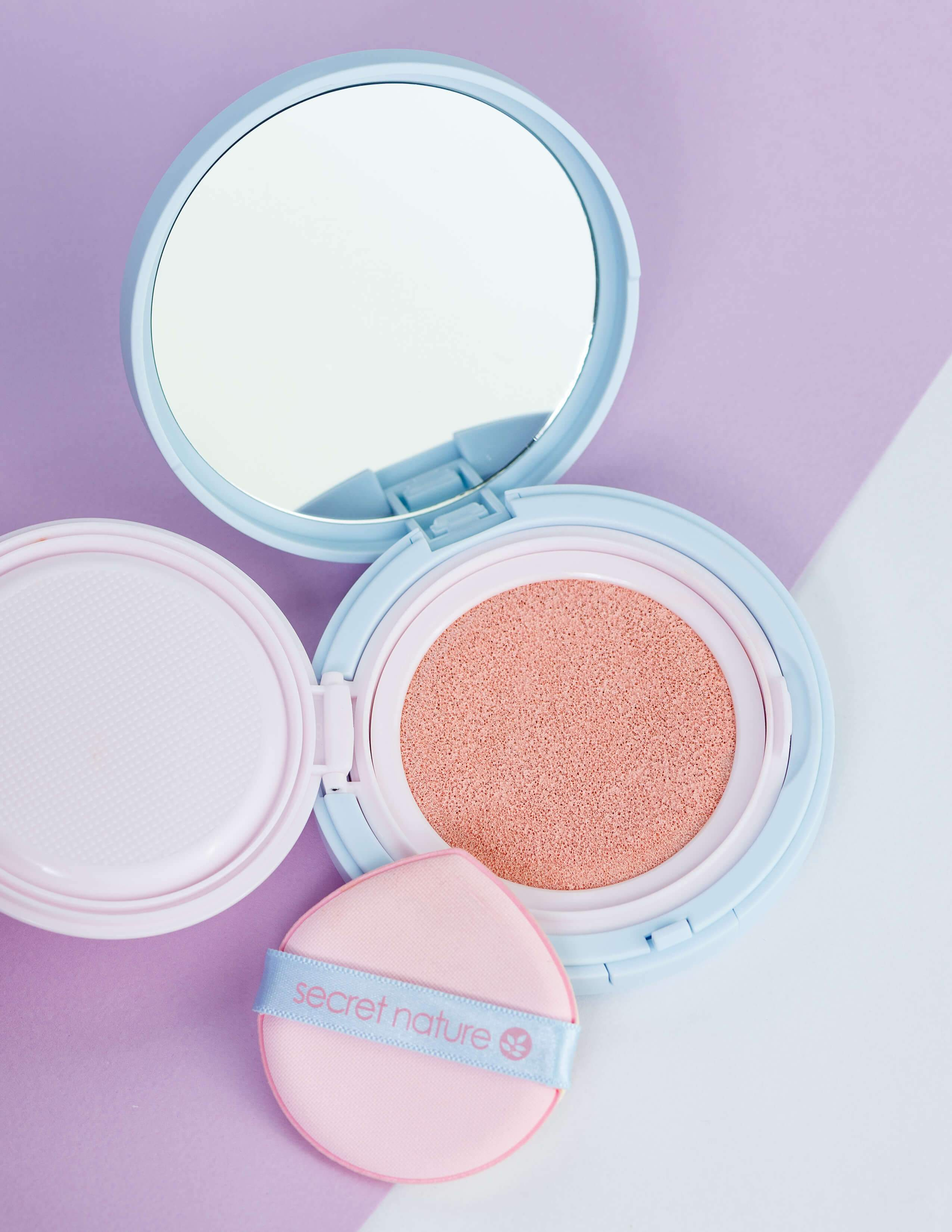 Cherry Blossom Pink Tone Up Sun Cushion