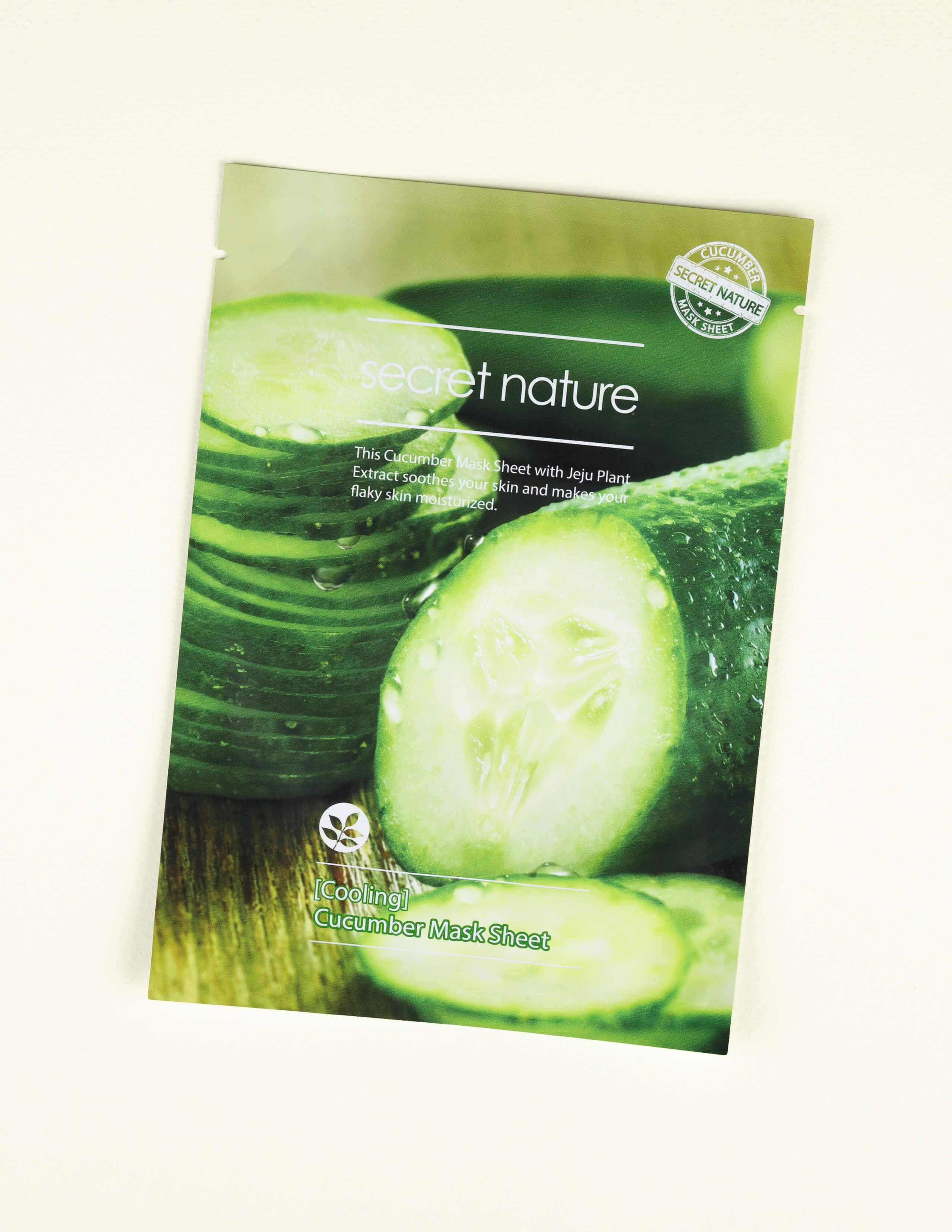 Cooling Cucumber Mask Sheet 1pc