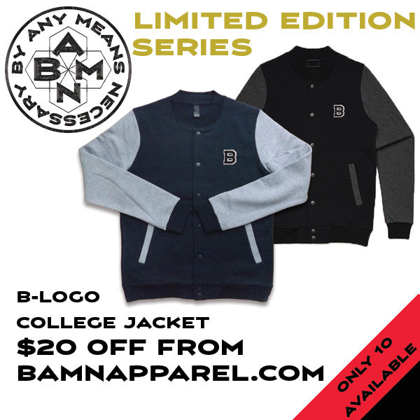 Exclusive Pre-release B Logo College Jacket