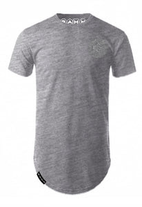 Human Fit Tee - Grey Marle