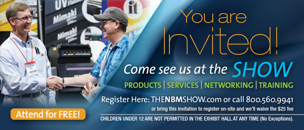 2019 NBM SHOW IRVING, TX (March 28-30)