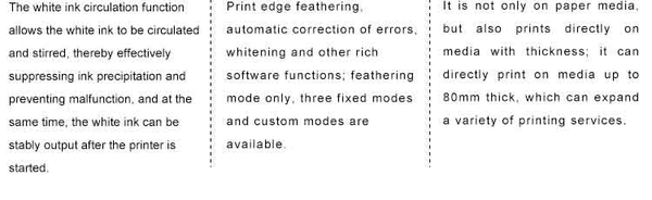UV Printer Product Specification 3