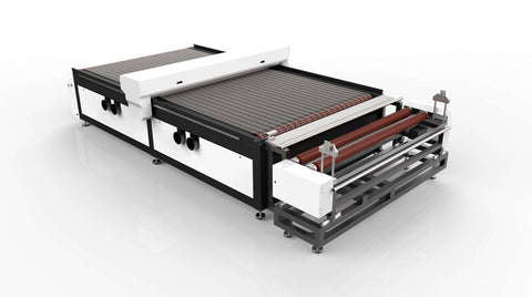 "Industrial Level 70""x118"" CO2 Laser Engraver with Auto Feeding 100W to 150W - Rose Graphix, Lasers, rosegraphix"