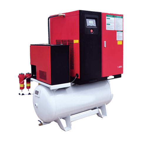 1.6 MPA Air Compressor/Dryer Combo for Fiber Laser Cutting