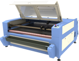 "Fabric Cutting Machine 71"" x 39"" with Conveyor Belt and Feeder 100W-150W - Rose Graphix, Lasers, rosegraphix"