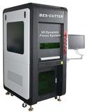 BesCutter 100W Galvo IPG Fiber Laser Engraving Machine with 3D Dynamic Focus - BesCutter Laser Cutters and Engravers