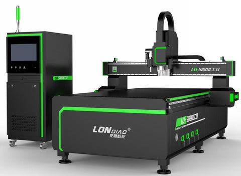 CNC Router with CCD Camera and Oscillating Knife for Hard and Soft Materials - Rose Graphix, CNC Routers, rosegraphix