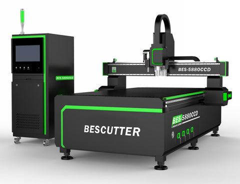 Three-Axis CNC Router with CCD Camera and Oscillating Knife Cutter - Rose Graphix, CNC Routers, rosegraphix
