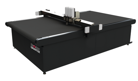 "Triple-Head Flatbed High Speed Digital Cutting System 52""x68"" - Rose Graphix, CNC Cutters, BesCutter"