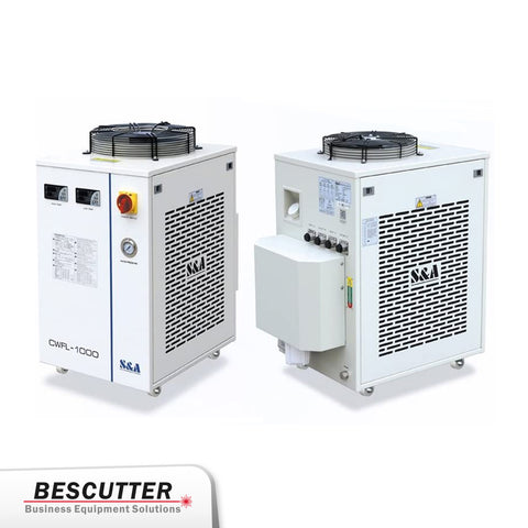 Industrial Refrigerated Water Chiller CWFL-1000BN For Fiber Laser 1000W - BesCutter