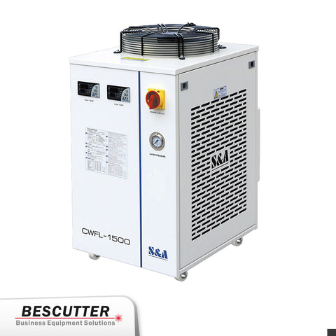 Industrial Refrigerated Water Chiller CWFL-1500 For Fiber Laser 1500W - BesCutter