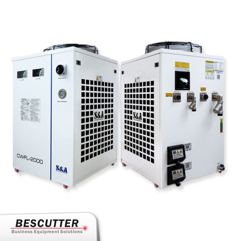 Industrial Refrigerated Water Chiller CWFL-2000 For Fiber Laser 2000W - BesCutter