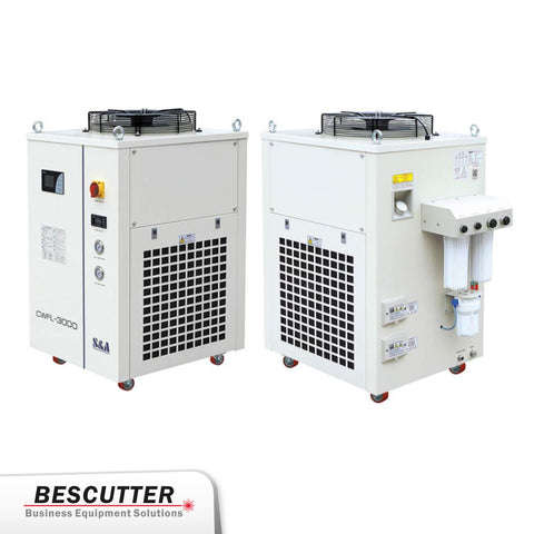 Industrial Refrigerated Water Chiller CWFL-3000 For Fiber Laser 3000W - BesCutter