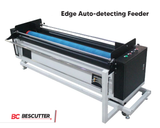 "ALL SYSTEM INCLUDED BESCUTTER FABRIC CUTTING MASTER 65""X45"" CO2 LASER CUTTER & ENGRAVER 150W WITH CAMERA, CONVEYOR BELT, ROLL STACKER AND AUTO FEEDER 