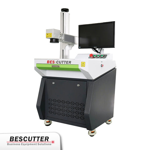 Bescutter Desktop Style 30-50W Galvo光纤激光打标机- BesCutter Laser Cutters and Engravers