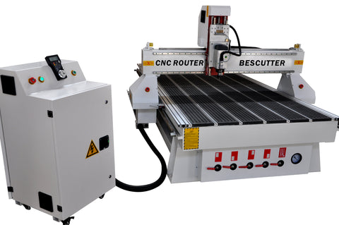 "Three-Axis CNC Router 51""x98"" Build Machine with Your Configuration - Rose Graphix, CNC Routers, BesCutter"