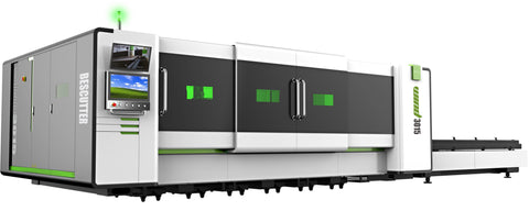 Wind Series IPG 6KW 5'x10' Fiber Laser Cutter Fully Enclosure with Hydraulic Shuttle Table - Rose Graphix, Lasers, BesCutter