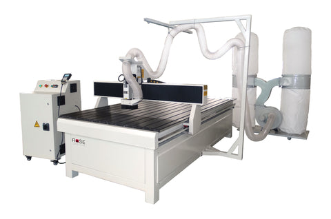 "Three-Axis Single-Spindle Flatbed CNC Router 48""x48"" - Rose Graphix, CNC Routers, rosegraphix"