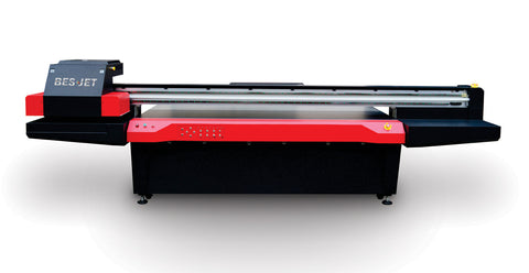 High Speed 8 X4 Uv Led Flatbed Printer With 6 Ricoh Gen5