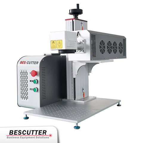 BesCutter Split Type Galvo 30/60W CO2 Laser Marking Machine with Synrad Metal Tube - BesCutter Laser Cutters and Engravers