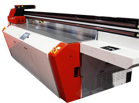 High Clearance 5'x4' UV-LED Flatbed Printer Ricoh Gen5 Printheads - BesCutter Laser Cutters and Engravers
