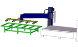 AUTOMATIC FEEDING MANIPULATOR FOR FIBER LASER CUTTING MACHINE - Rose Graphix, , BesCutter