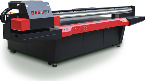 High Speed 8'x4' UV-LED Flatbed Printer with 6 Ricoh Gen5 Printheads - Rose Graphix, Printers, BesCutter