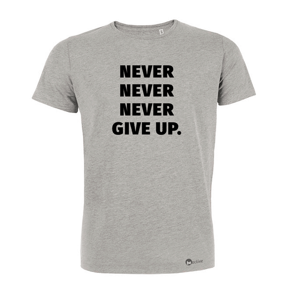 Never, never, never give up - Herren