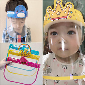 Children Transparent Face Shield