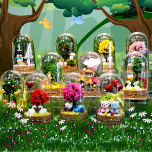 Make Your Own Terrarium DIY Kit AC3005A/AC3005B/AC3005C/AC3005D