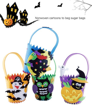 Halloween DIY treat bags / favor bags HLW1005D