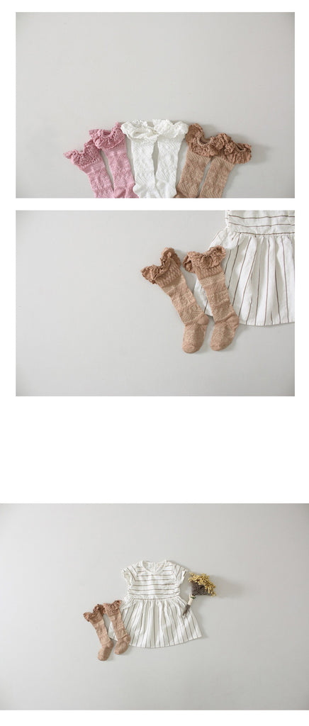 0-6Y Knee High Long Socks A3255L3