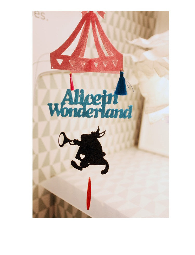 DIY Mobile Ornament Set Alice in Wonderland A702I