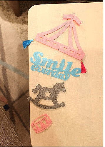 DIY Mobile Ornament Set Smile Everyday A702K
