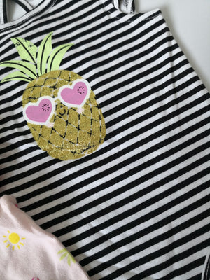 Baby Pineapple Romper A40312H
