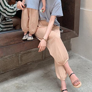 2-8Y Kids Casual Pants A10313I (Mother size available)