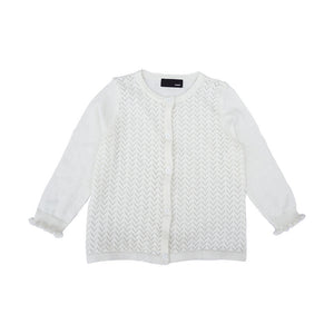 2-7Y Girls Cotton Cardigan A2086H