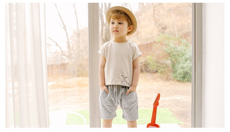 1-6Y Bebezoo Boy Top and Bottom 2pcs Set K10121A