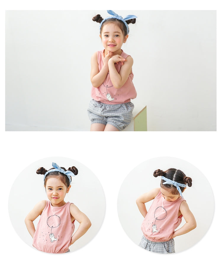 1-6Y Bebezoo Girls Top and Bottom 2pcs Set K20121D