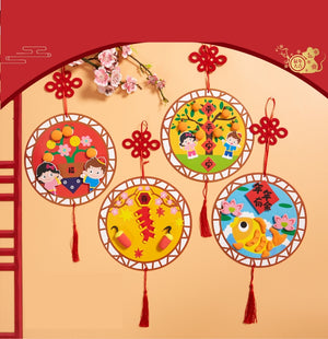 Lunar New Year Art and Craft Decoration DIY Pack CNY1006A